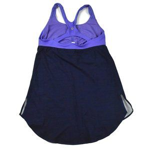 Lululemon Womens Tank Top size 6 Purple Blue Yoga